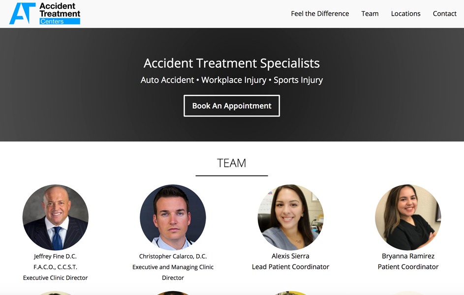 Accident Treatment Centers Recent Work 4