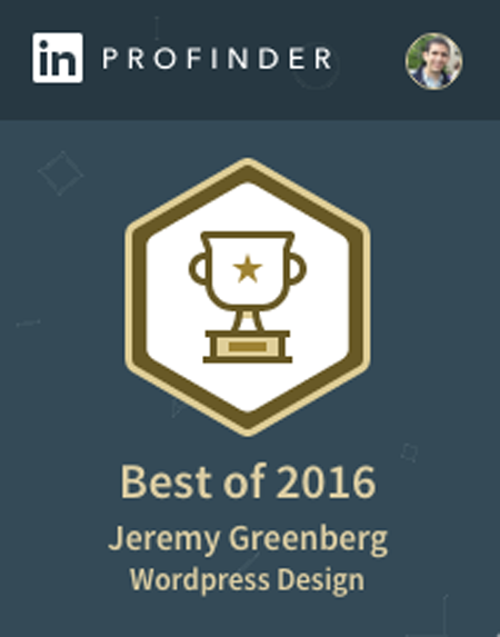 Jeremy Greenberg | LinkedIn Profinder Award