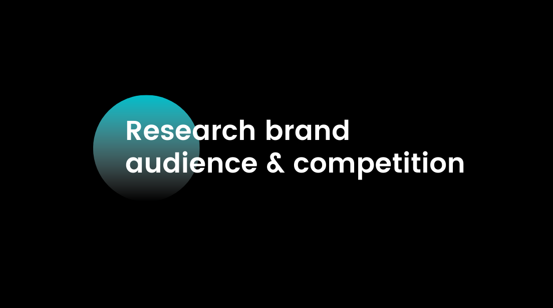 5 Steps to a Successful Rebrand Research brand audience & competition | 97 Switch